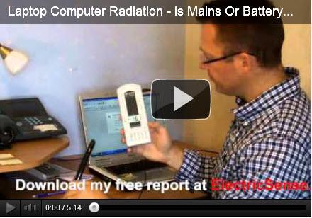 computer radiation