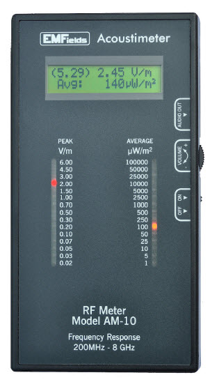 Acoustimeter Am 10 Rf Meter My Review