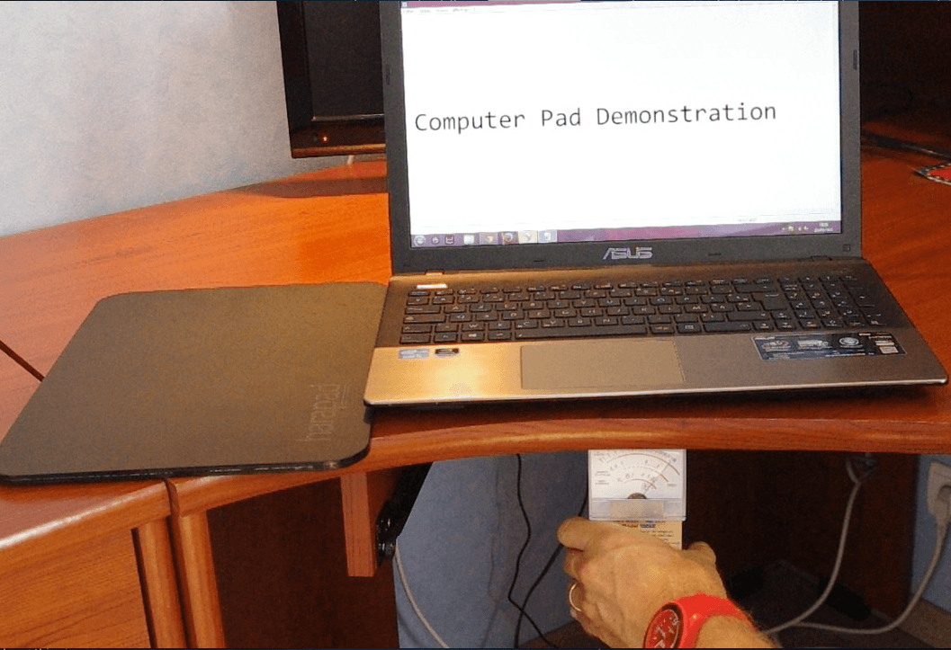 computer pad laptop radiation shield