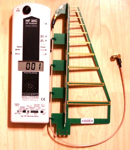 HF35C EMF meter