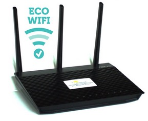 Eco-WiFi: Low Radiation WiFi Router
