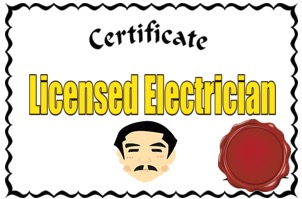 licensed electrician emfs