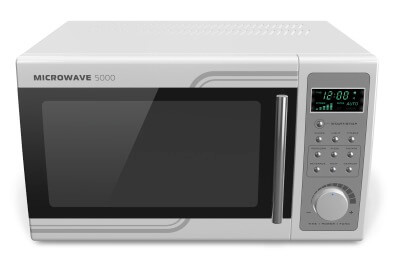 microwave oven electromagnetic fields