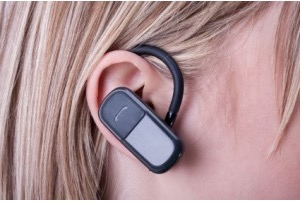 bluetooth radiation from a wireless headset