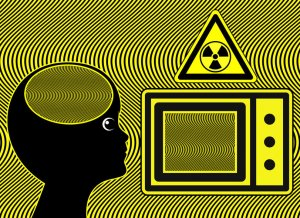 microwave oven radiation