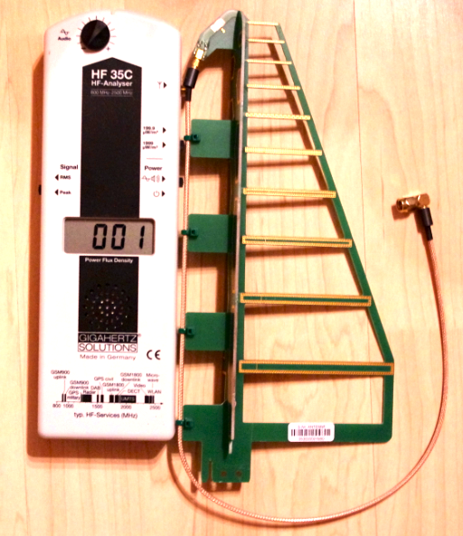 My Review of the HF35C EMF Meter / RF-Analyser