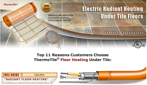 Low EMF Electric Radiant Heat – ThermoSoft Has An Option