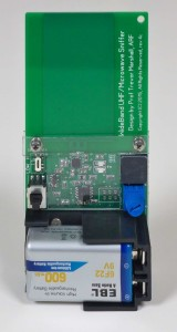 tiny EMF meter