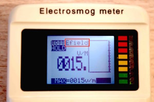 cornet ed88t electric field meter