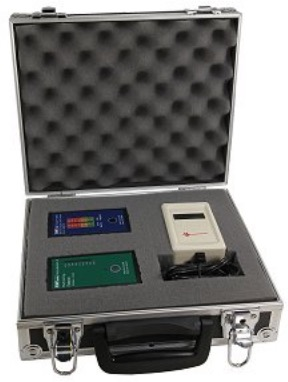 EMF Kit - 3 EMF Meters + Case
