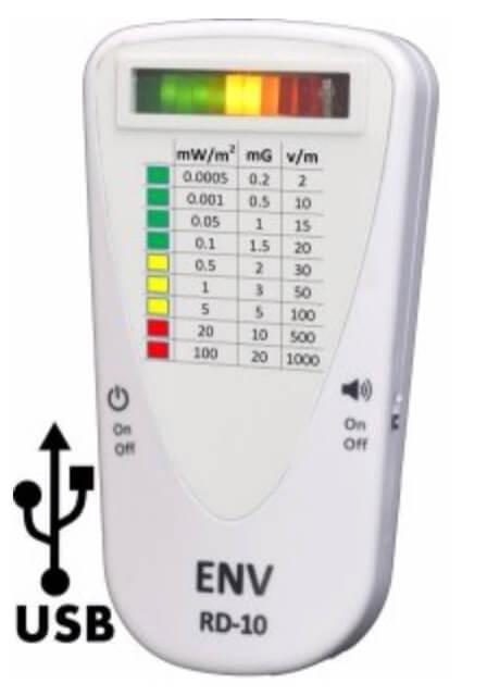 ENV RD-10 EMF Meter