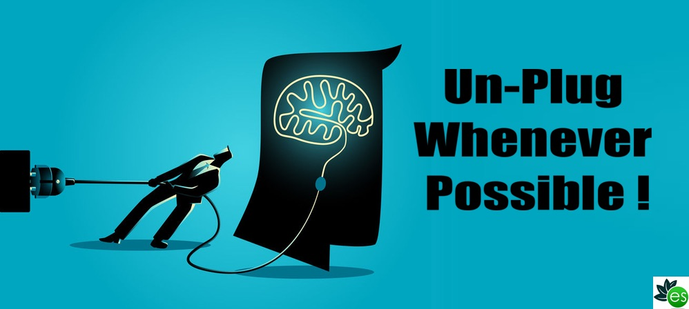 man tries to un-plug brain