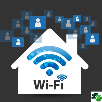 wifi satures your home with electromagnetic energy