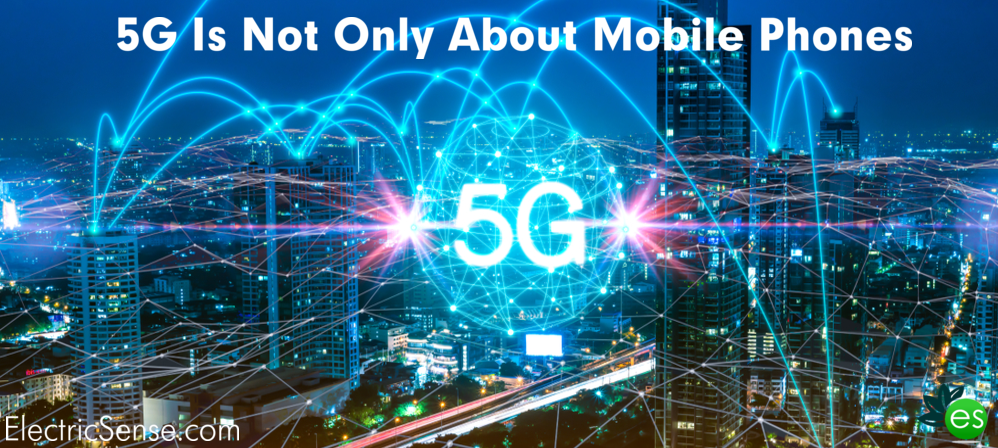 5G everywhere in the city